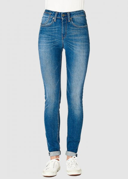 Carey Super Skinny High Medium Blue from Greenality