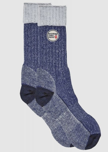 Low Terry Socks Single Pack Total Eclipse from Greenality