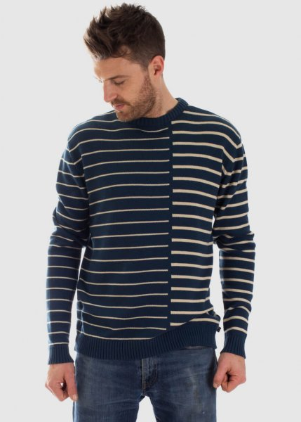 Pull Arthur Stripes Blue from Greenality