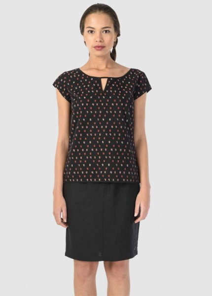 Untzue Women Shirt Black from Greenality