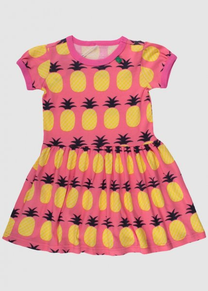 Pineapple Dress Coral from Greenality