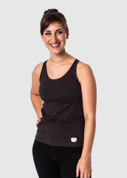 Basic Active Tanktop Anthrazit Flame from Greenality