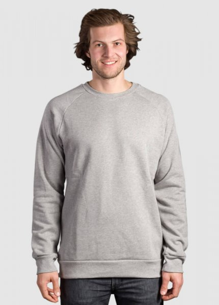 Classic Sweater Hell Grau from Greenality