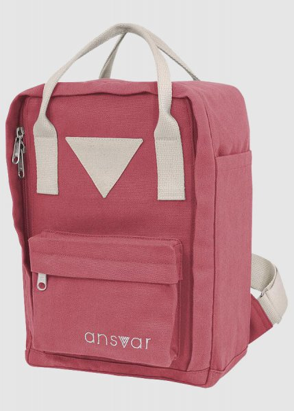 Mini Backpack Ansvar IV Altrosa from Greenality