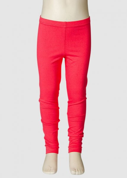 Leggings Plain Coral from Greenality