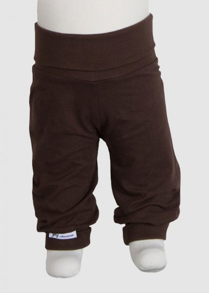 Jersey Babypants Plain Brown from Greenality