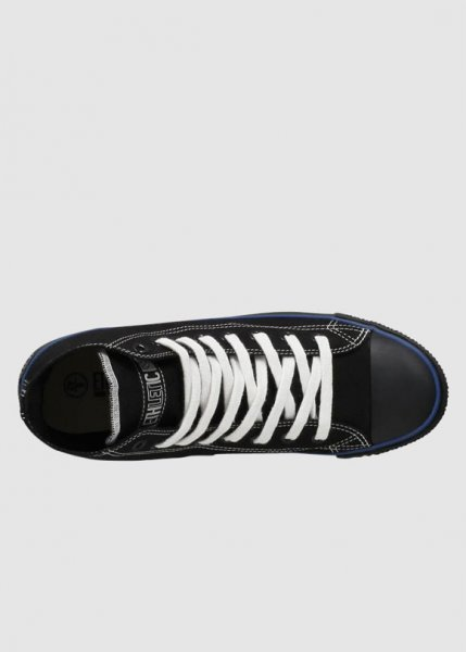Fair Trainer Black Cap Hi Cut Collection Jet Black from Greenality