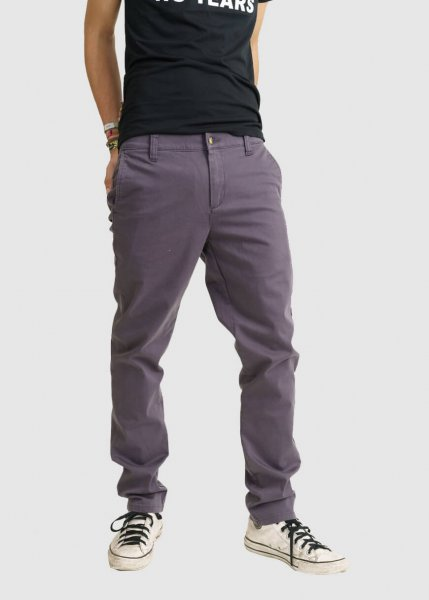 Chino Sateen Graphite from Greenality