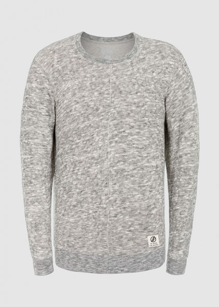 Mountain Pullover Light Grey Melange from Greenality