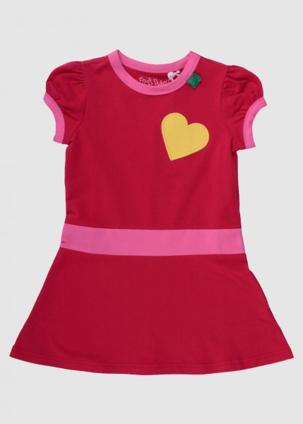 Spot Dress Baby Red from Greenality