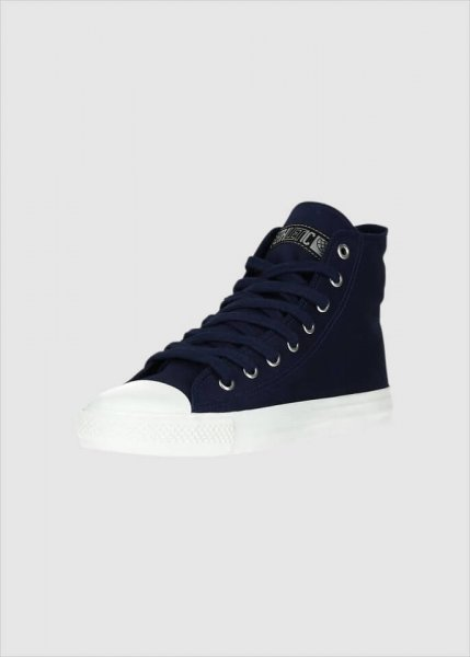 Fair Trainer White Cap Hi Cut Collection Ocean Blue Just White from Greenality
