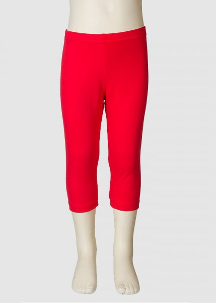 Leggings Plain Red from Greenality