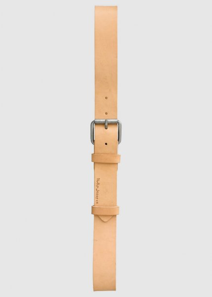 Pedersson Leather Belt Natural from Greenality