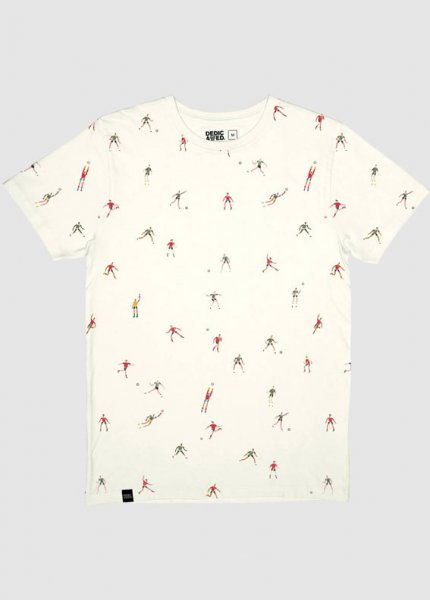 T-Shirt Stockholm Futbol Off White from Greenality