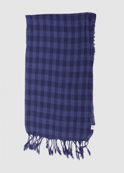 Check Scarf Insigna Blue from Greenality